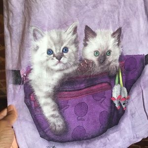 The Mountain Fanny Pack Kittens Shirt